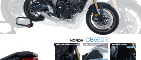New R&G Crash Protection and Styling for Honda CB650R 2019-